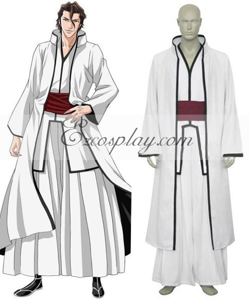 Bleach Aizen Sousuke Hollow Cosplay Kostüm E001