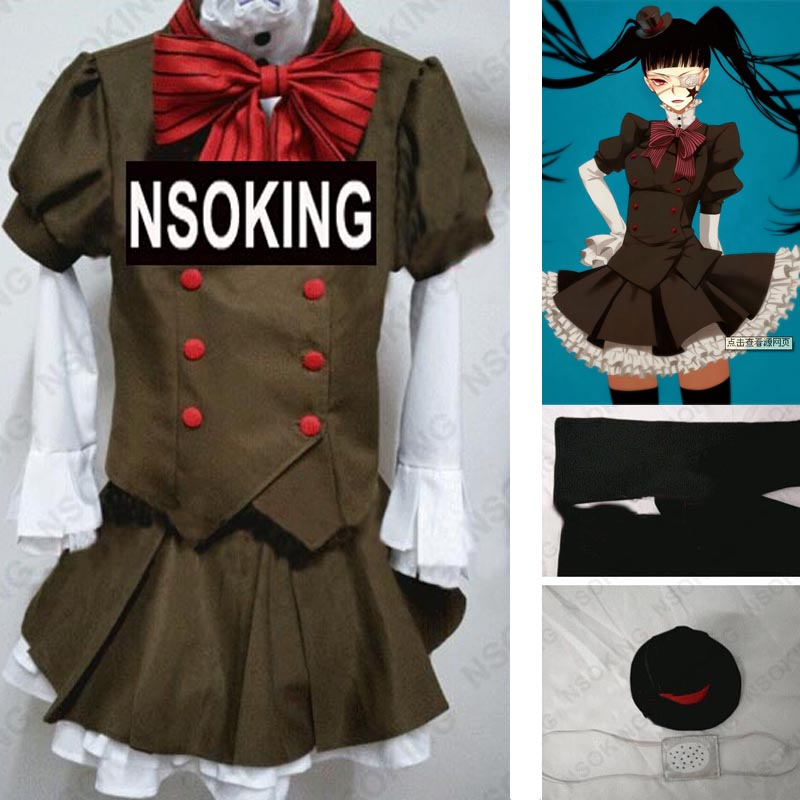 Anime Anonim Gürültü Nino Arisugawa Cosplay kostüm Custom Made